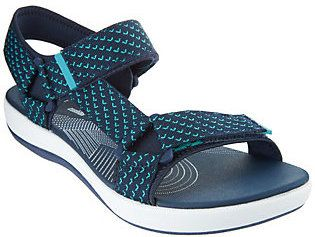 Clarks As Is CLOUDSTEPPERS by Adj. Sport Sandals - Brizo Cady