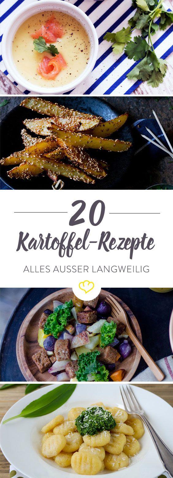 Ofen, Pfanne oder Suppentopf - die Kartoffel macht überall eine gute Figur. 20 Rezepte mit der Knolle oder auch: das Paradies für Kartoffelliebhaber!