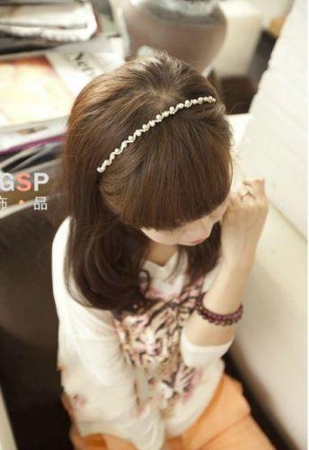 New-Women-Girl-Bridal-Pearls-Crystal-Waves-Headband-Rhinestone-Wedding-Hair-Band