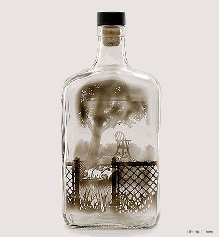 jim dingilian bottle smoke art hero IIHIH