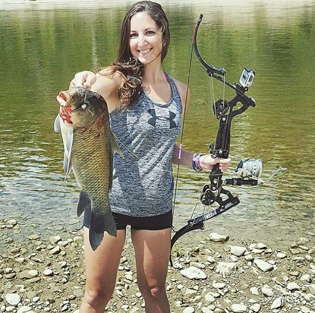Read about @bekagarris: The Secrets of bow fishing.@girlswithgunsclothing  #bowfish #bowfishing #summer #thwack