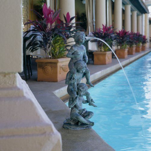 Childhood Memories Lost Wax Bronze Statue Sculpture