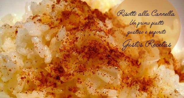 Risotto alla cannella Risotto alla cannella, uno di quei primi piatti che ti faranno leccare le dit...