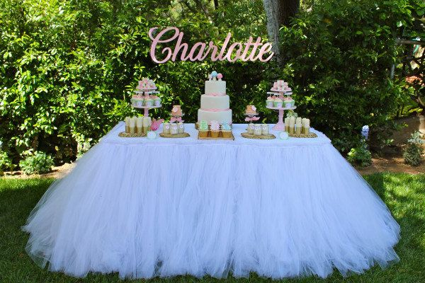 """""""Tulle Tutu Tablecloth..."""" Available in Custom Colors by mrsfreund"""