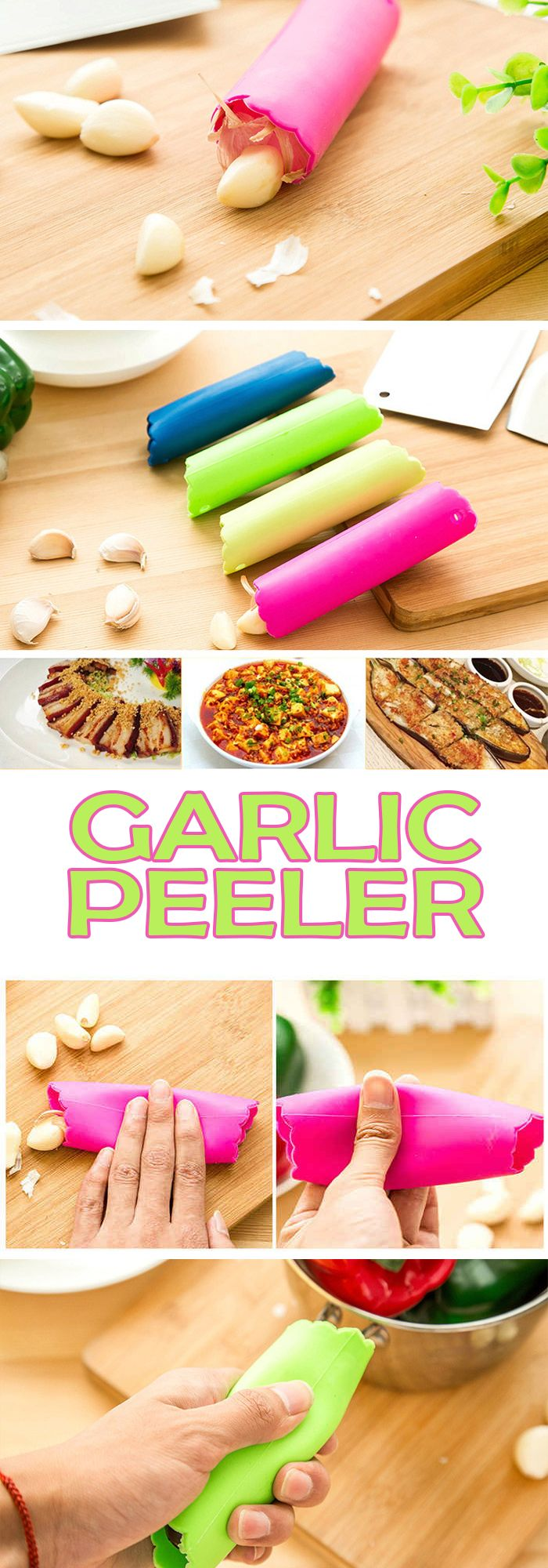 Handy garlic peeler kitchen tool