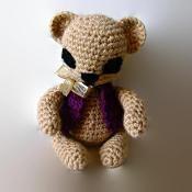 Teddy Bear Amigurumi  Toy - via @Craftsy