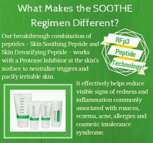 Great info on Rodan + Fields Soothe!