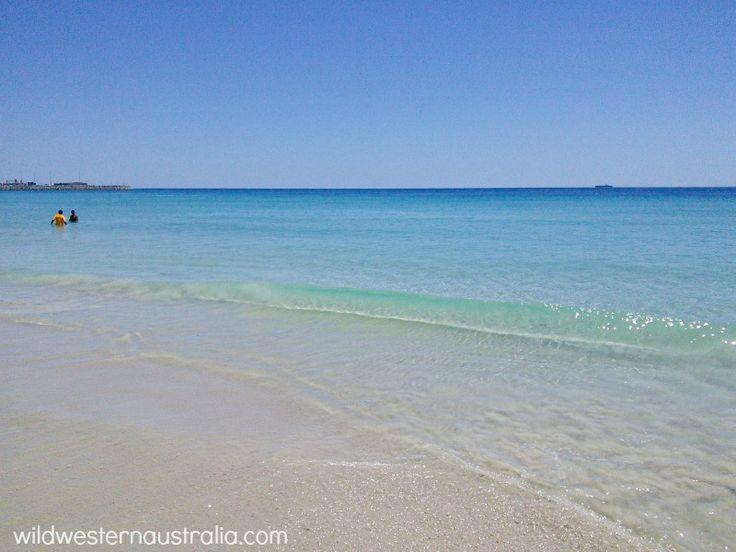 Swimming at Port Beach, Perth