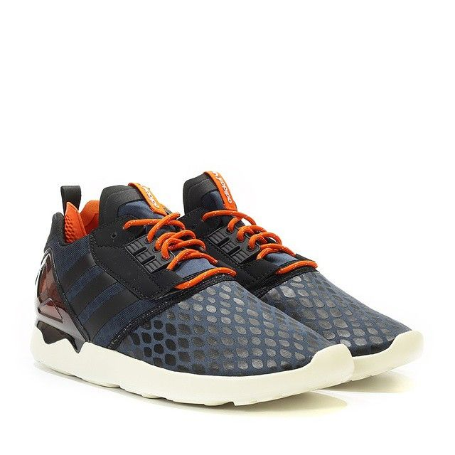 adidas ZX 8000 Boost: midnight/core black/core orange