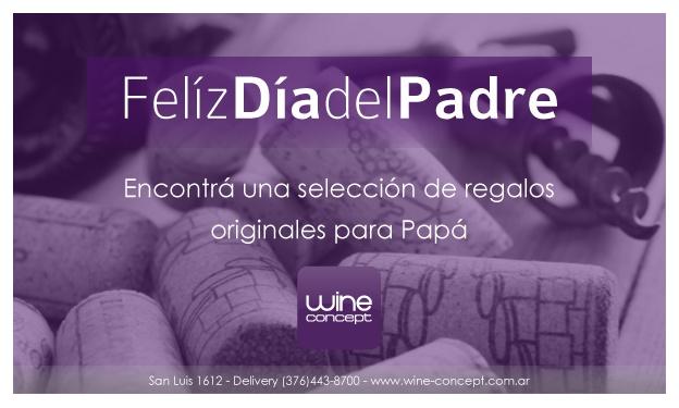 Feliz Día del Padre!  http://wine-concept.com.ar/diadelpadre2013/content.html