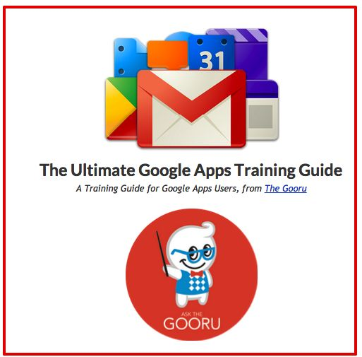 A Very Good Google Apps Guide for Teachers ~ Educational Technology and Mobile Learning
