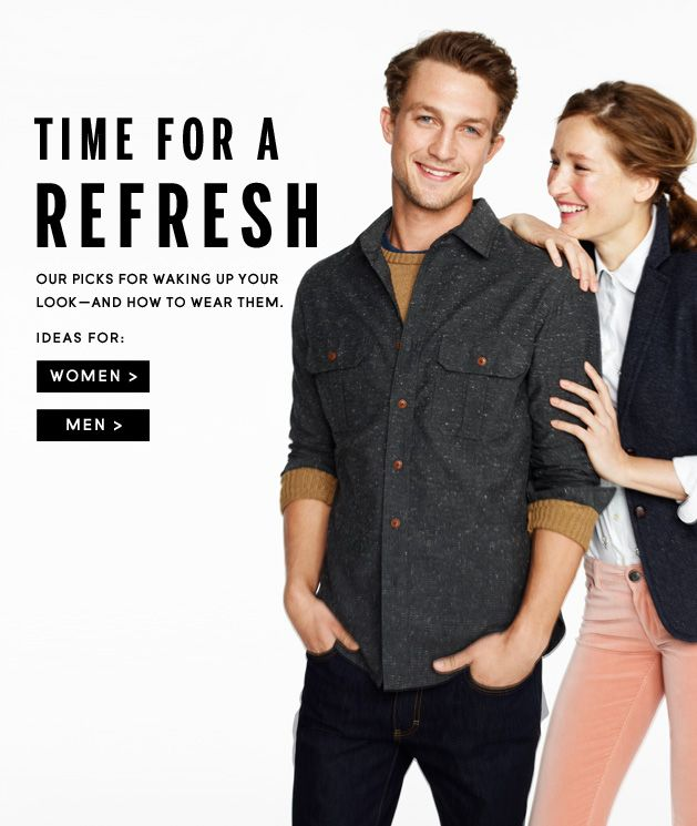 Get up to 40% off Everything @J.Crew.