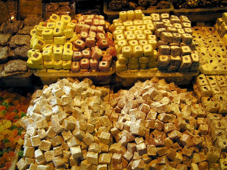 More Yummy Sweets from the Istanbul Grand Bazaar.  #Turkey #Grand Bazaar #Istanbul #sweets