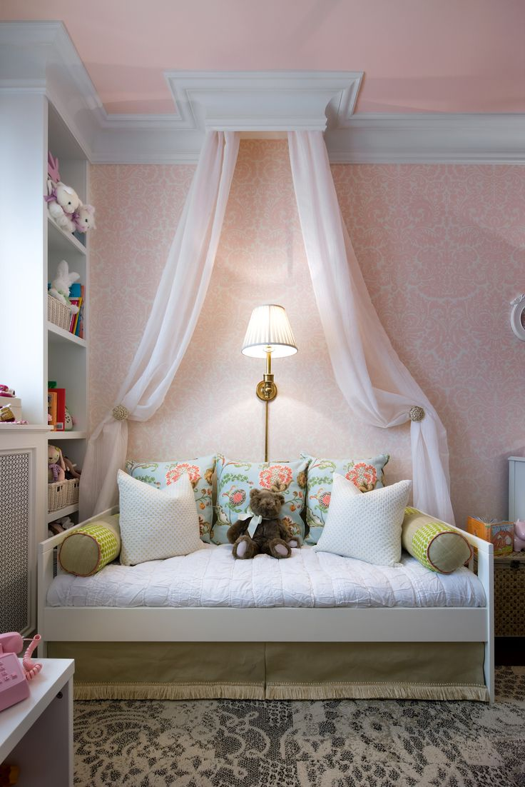#CandiceTellsAll  #WatchandPin  This charming daybed is the perfect addition to a once cluttered little girls room.  http://www.hgtv.com/candice-tells-all/show/index.html?soc=pinterest