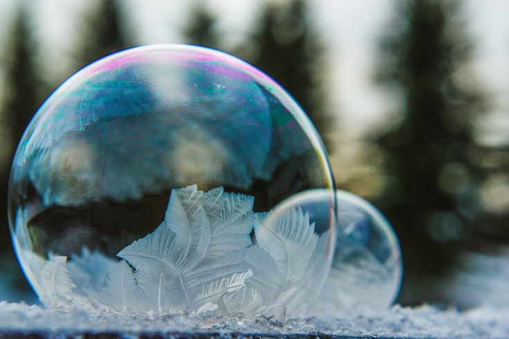 Cold winter weather can lead to amazing spectacles, some of which can easily be made at home.