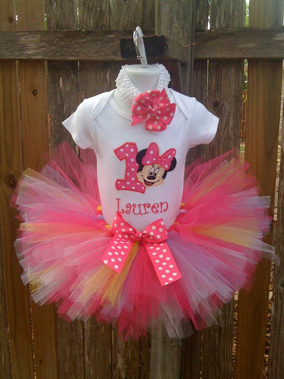 Minnie Mouse Shirt and Tutu