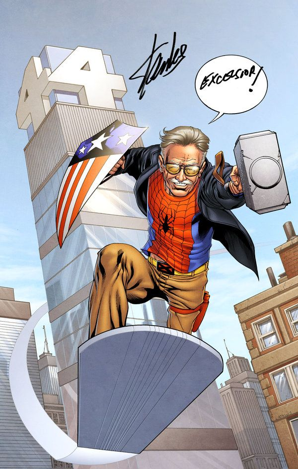 Stan the Man by *spidermanfan2099 on deviantART