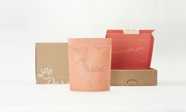 """When Le Parcel needed more efficient packaging for it's """"time of the month"""" goody box, it turned to marketing and design collective Seven Fifty Five.  http://www.leparcel.com/"""