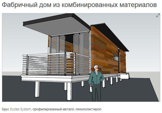 Передвижные дома из дерева по технологии Ecoles System