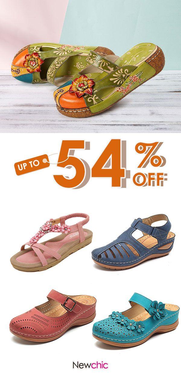 Women fashion sandals.