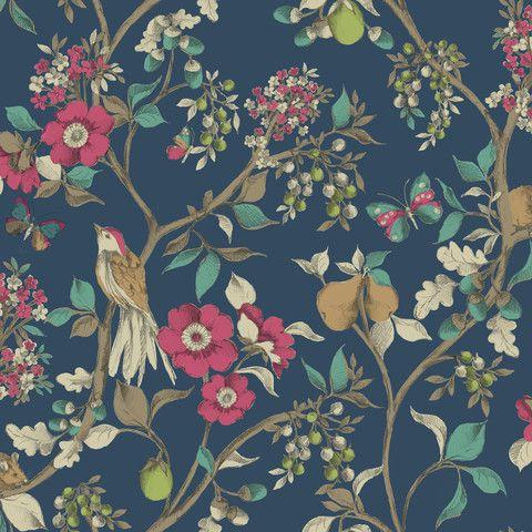 Florence Broadhurst Damsen - 5 colours