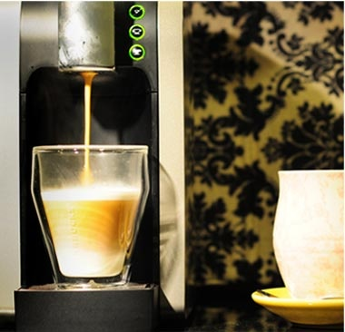 """Impossible until now. Enter for a chance to win 1 of 400 Starbucks #Verismo Systems in the """"It's Possible"""" Sweepstakes (ends Oct 8, 2012 – US/Canada)."""