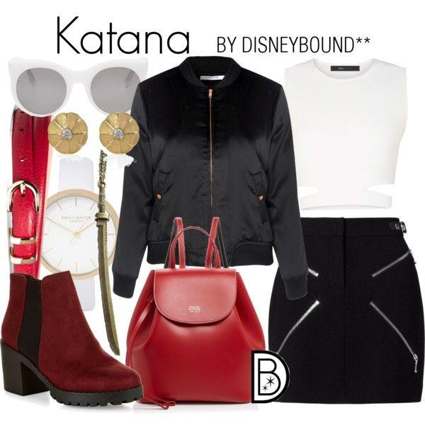 Disney Bound - Katana (DC Comics - Suicide Squad)