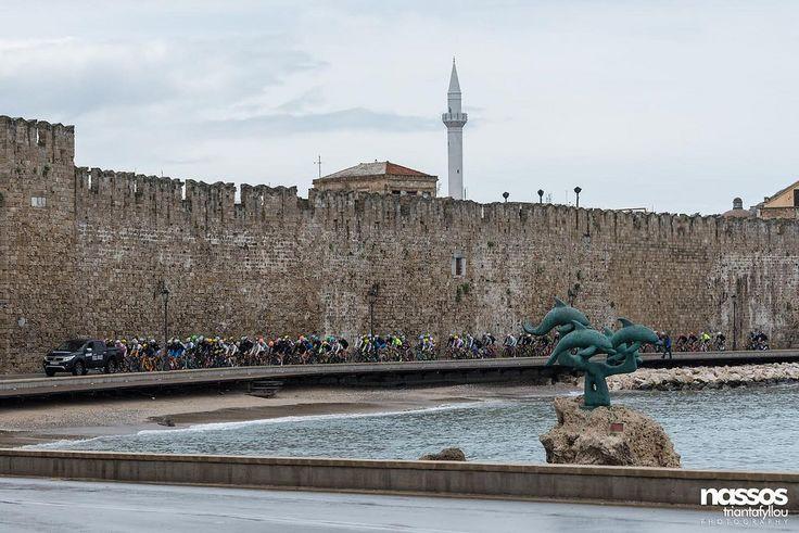 Υπέροχα πλάνα της Ρόδου έστειλαν σε όλο τον κόσμο οι διεθνείς ποδηλατικοί αγώνες (φωτορεπορτάζ)