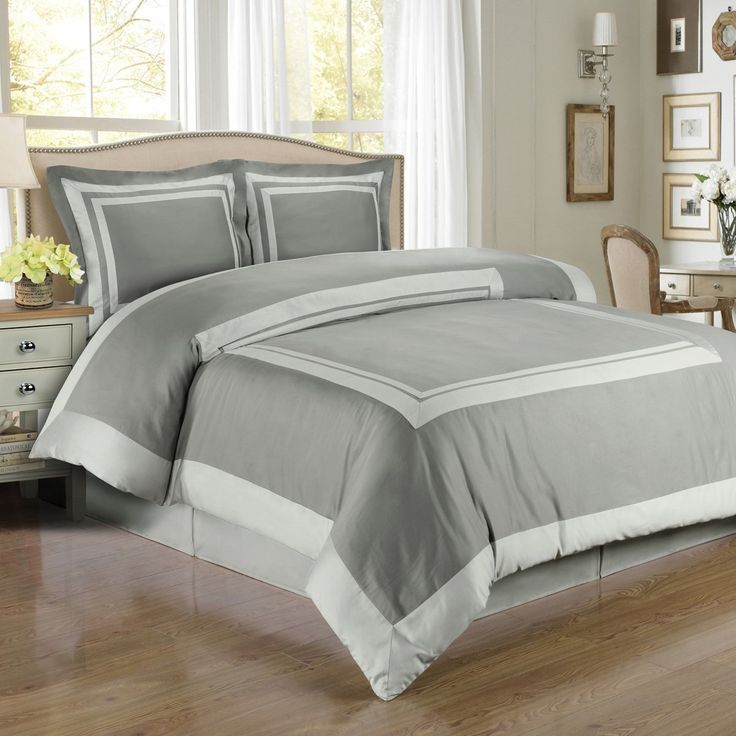 deluxe deluxe reversible hotel duvet cover set egyptian cotton 300 thread count bedding woven with superior singleply yarn