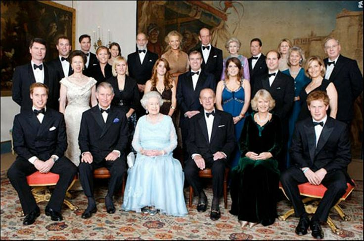 british royal family portrait