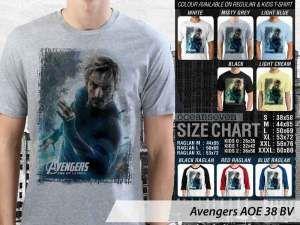 Kaos Captain America Avengers Age of Ultron, Kaos Hawkeye Avengers Ultron