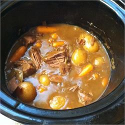 Slow Cooker Venison Roast. I'd add some beef broth/stock as well.