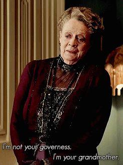 """Даунтон Abbey - вдовствующая графиня Гранты (фиолетовый Кроули ♔ Мэгги Смит) # 3 - """"Кажется, жаль упустить такую хорошую пудинг."""" - Страница 3 - Вентилятор Форум"""