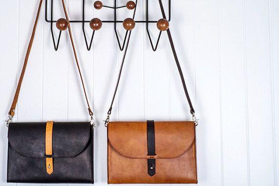 Handmade Leather Laptop Briefcase