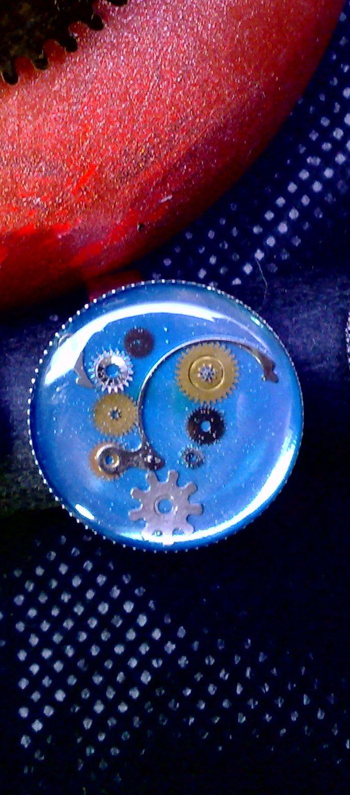 steampunk ring resin