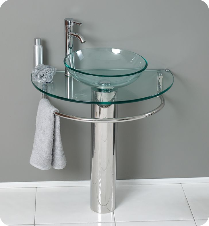 30 Bathroom Pedestal Vanity Glass Vessel Sink Set 132 best single sink vanities images on pinterest | bathroom ideas