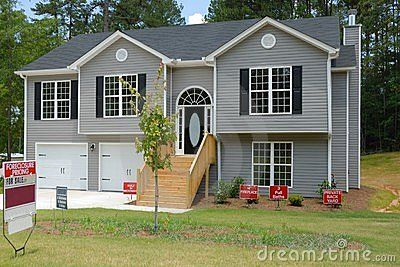 Split Level Home for sale by Paul Brennan, via Dreamstime