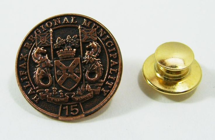 Halifax Regional Municipality 15 Year Pin Back Pin