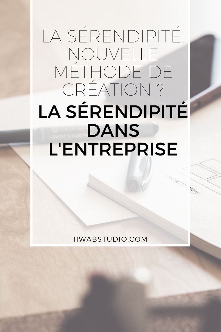 Blog Serendipite Serendipity Entreprise Creation Creer Serendipite Marketing Numerique Developpement Professionnel