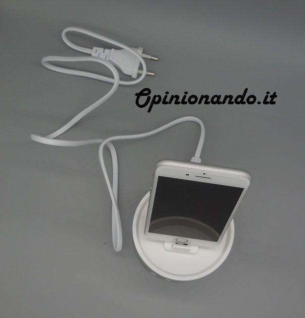 Oittm Multifunctional USB Charging Station Sopra #iPhone #recensione #Opinionando