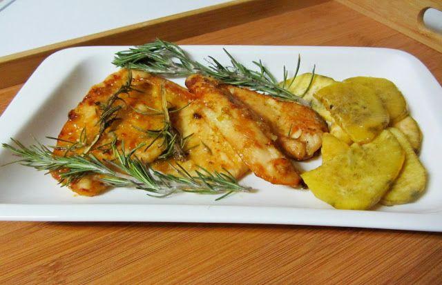 Cozinha Fresh: Bifes de frango com mel e mostarda