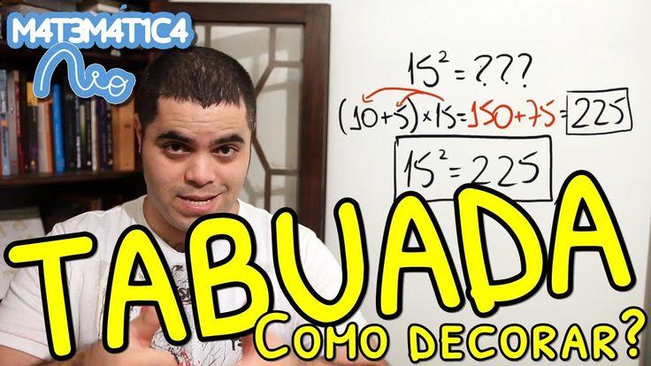 COMO DECORAR A TABUADA? Propriedade Distributiva!   Matemática Rio