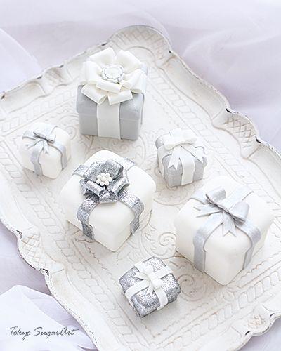 white & silver sugar box