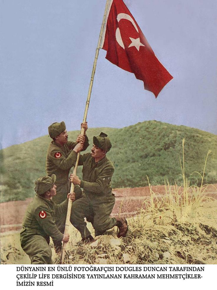 Kore savaşı - Korean War Photos - Türk Askerleri - Turkish Army -- The Turks were among the toughest and bravest men that fought in Korea.