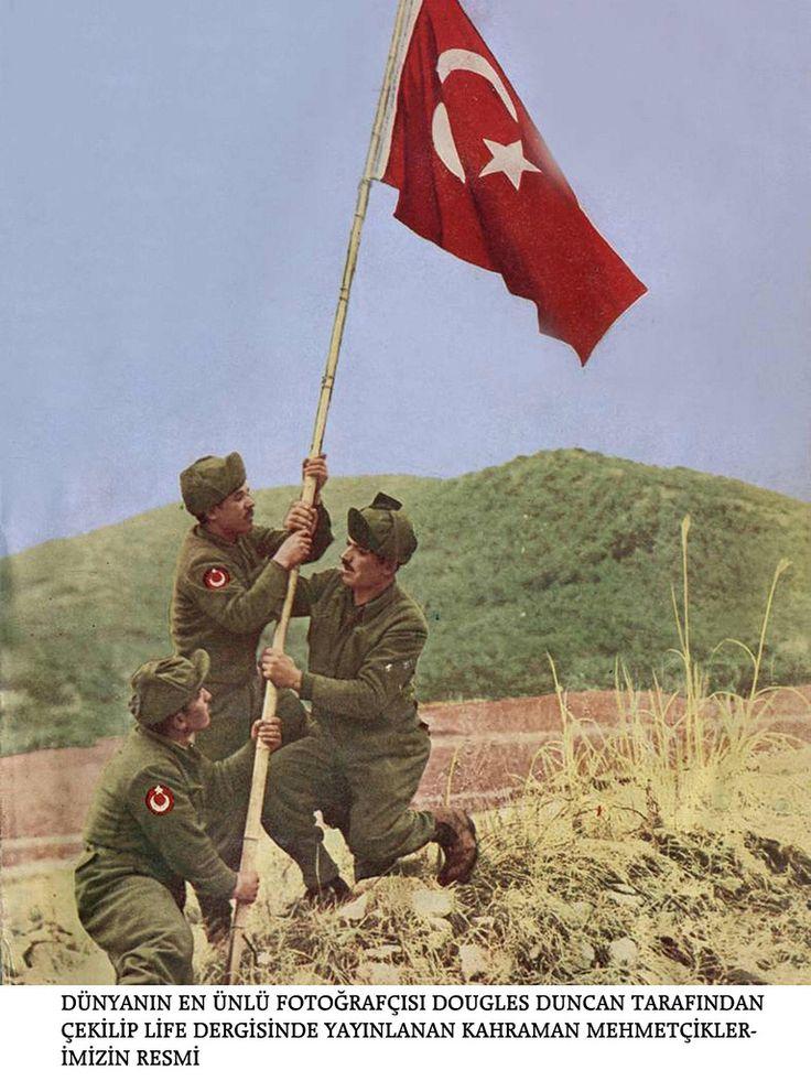 Kore savaşı - Korean War Photos - Türk Askerleri - Turkish Army -- The Turks were among the toughest and bravest men that fought in Korea.