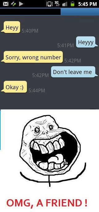 "37 ""You've got the wrong number"" Text Messages."