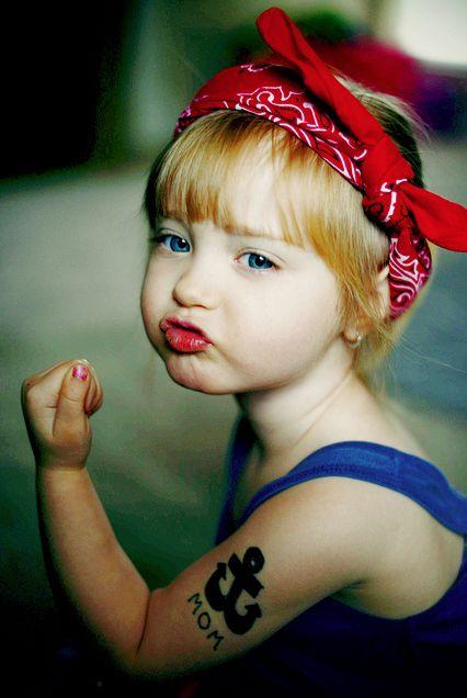 Taffe Lady ♥ stylefruits Inspiration ♥ #tattoo