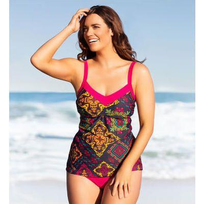 Patagonia - Women's Solid Kupala Top - Haut de bikini taille S, rose/rouge