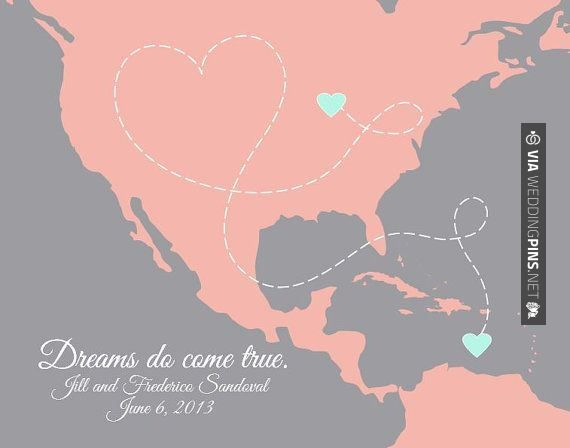 Love this - Wedding Motif 2015 - Destination Wedding Map -- Bahamas, Canada, Caribbean, Aruba, Jamaica, Cuba and all locations in North and South America via http://PaperPlanePrints.... | CHECK OUT MORE SWEET TEMPLATES FOR GREAT Wedding Motif 2015 OVER AT WEDDINGPINS.NET | #weddingmotif2015 #weddingmotif #motifs #boda #weddings #weddinginvitations #vows #tradition #nontraditional #events #forweddings #iloveweddings #romance #beauty #planners #fashion #weddingphotos #weddingpi