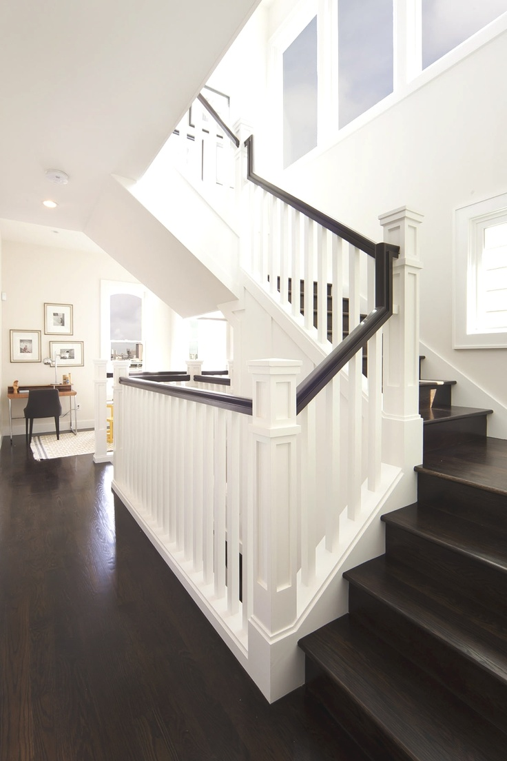love the floors and stairwell (the rest of the house is pretty amazing too!) via adelto